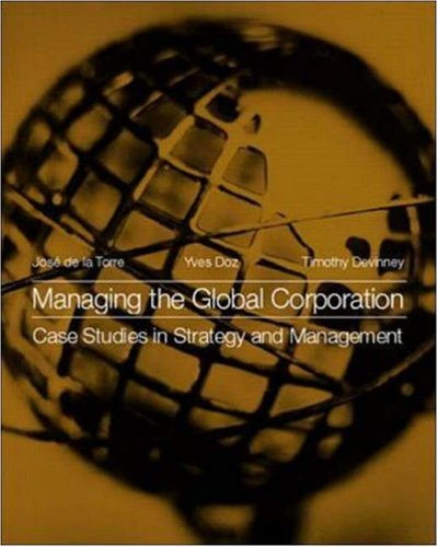 9780072347982: Managing the Global Corporation: Case Studies in Strategy and Management