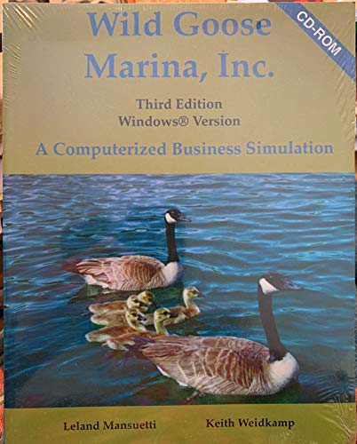 9780072348149: Wild Goose Marina, Inc. CD-ROM Package, Student Version