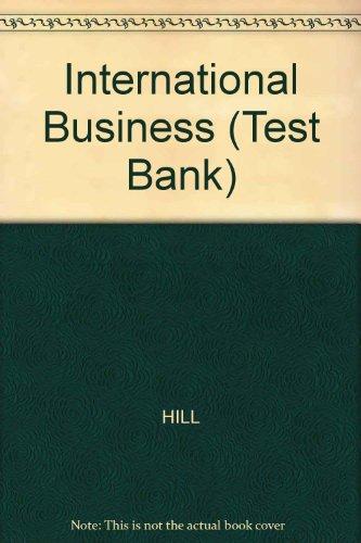 9780072348507: International Business (Test Bank)