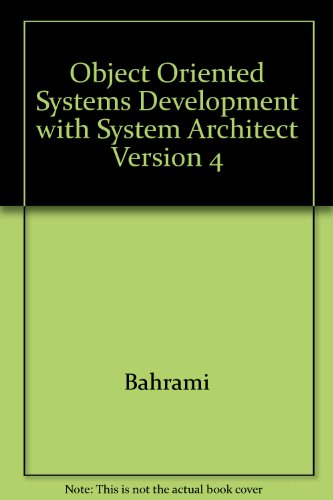 9780072349665: Object Oriented Systems Development: Using the Unified Modeling Language
