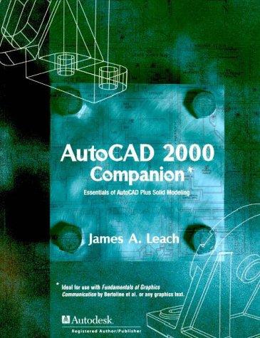 9780072349733: AutoCAD 2000 Companion (Irwin Graphics Series)