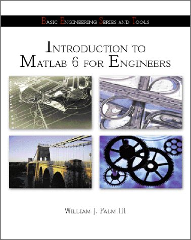 9780072349832: Introduction to Matlab 6 for Engineers