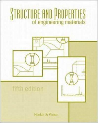 9780072350722: Structures and Properties of Engineering Materials