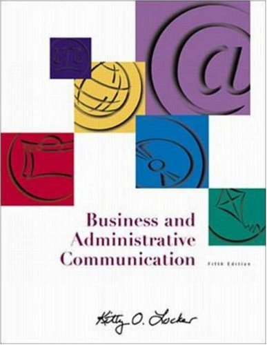 9780072350739: Business and Administrative Communication with Student Toolbox