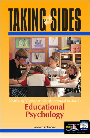 9780072350760: Taking Sides: Clashing Views on Controversial Issues in Educational Psychology