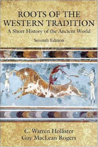 9780072350890: Roots of the Western Tradition : A Short History of the Ancient World