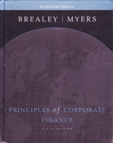 9780072351422: Principles of Corporate Finance (Teachers Edition with Student CD-Rom - Package)
