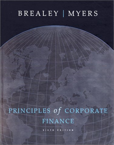 9780072352368: Principles of Corporate Finance (Irwin/McGraw-Hill Series in Finance, Insurance, and Real Est)