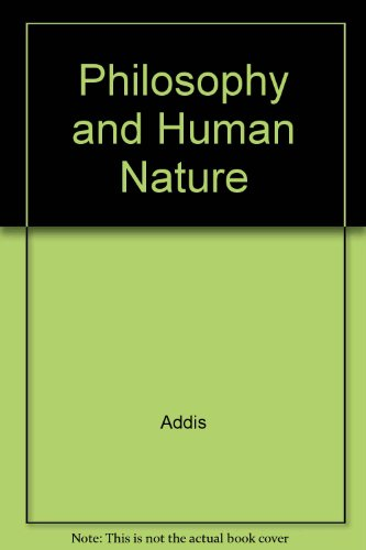 9780072352504: Philosophy and Human Nature