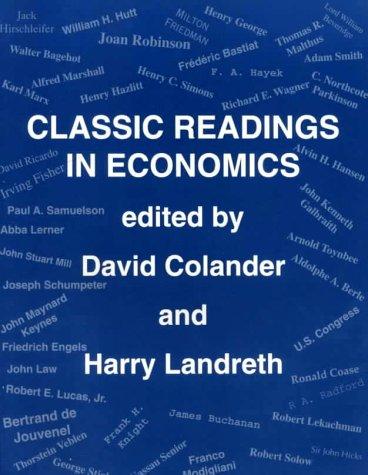 9780072352917: Economics: Classic Readings