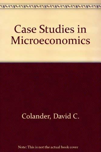 9780072352931: Case Studies in Macroeconomics