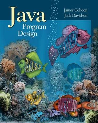 9780072354478: Java Program Design