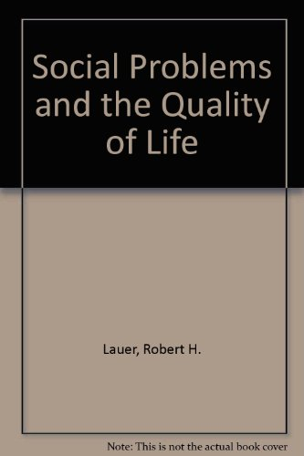 9780072355222: Social Problems and the Quality of Life