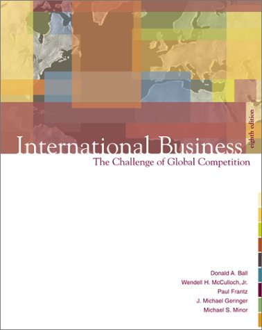 9780072356762: International Business: The Challenge of Global Competition