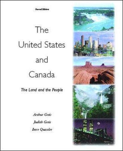 9780072356779: The United States and Canada: The Land and the People
