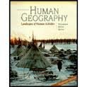 9780072356786: Human Geography: Landscapes of Human Activities