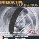 9780072356977: Interactive Companion CD-ROM for use with Computers, Communications, and Information