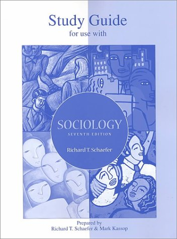 9780072357264: Student Study Guide for use with Sociology