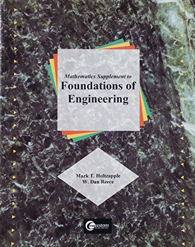 9780072357523: Mathematics Supplement to Foundations of Engineering