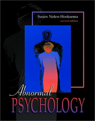 9780072357998: Abnormal Psychology