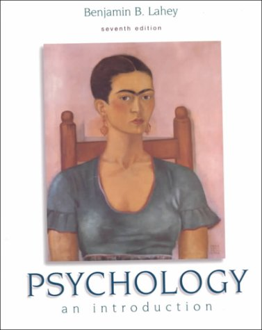 Psychology: An Introduction: Lahey, Benjamin B.