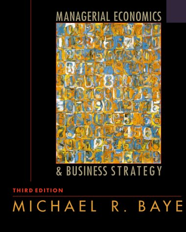 9780072358384: Managerial Economics & Business Strategy
