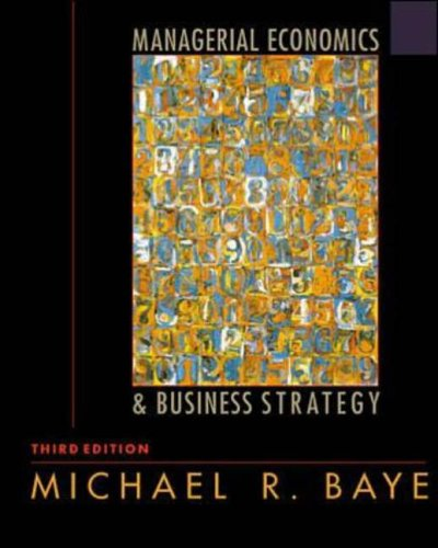 9780072358384: Managerial Economics and Business Strategy