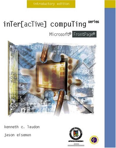9780072358575: Interactive Computing Series: Microsoft FrontPage 2000 Introductory Edition Level I MOUS