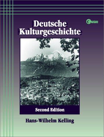 9780072358599: Deutsche Kulturgeschichte