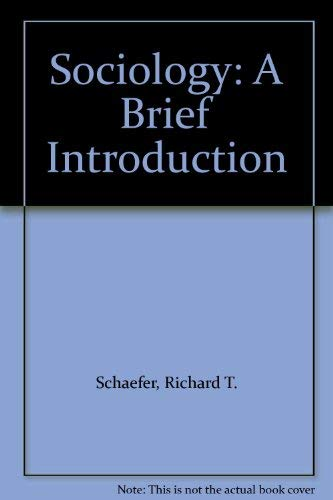 9780072358636: Sociology: A Brief Introduction