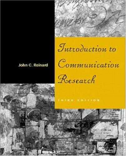 9780072358698: Introduction to Communication Research
