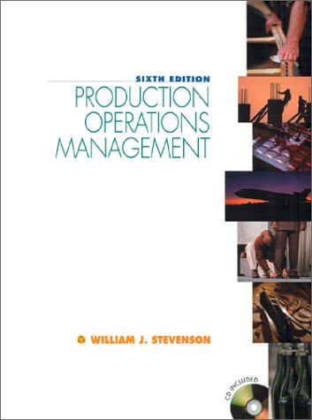 9780072359589: Production Operations Management