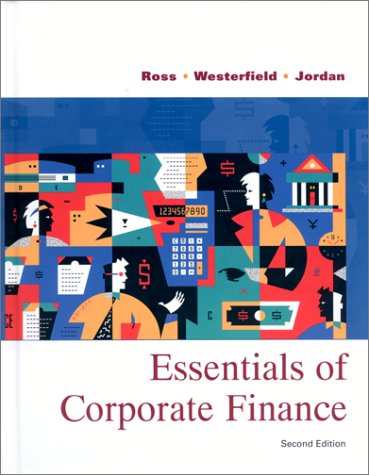 9780072359602: Essentials of Corporate Finance