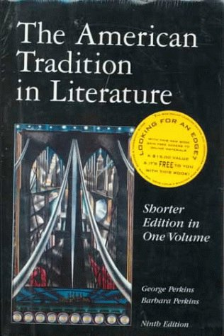 9780072359633: The American Tradition in Literature: Shorter Edition in One Volume