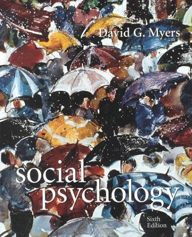 9780072359664: Social Psychology