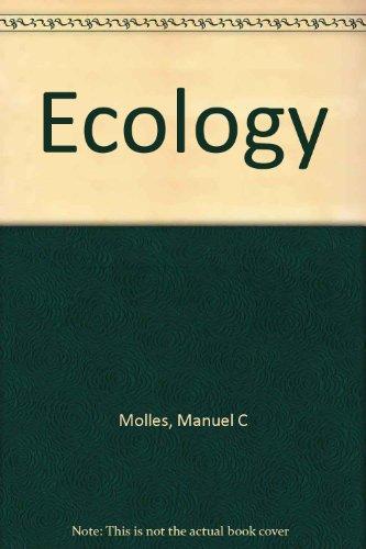 9780072360066: Ecology