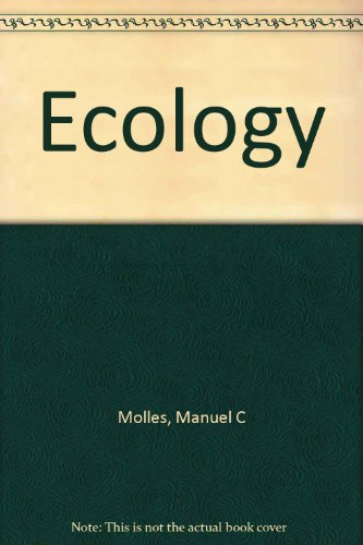 9780072360066: Ecology: Concepts and Applications