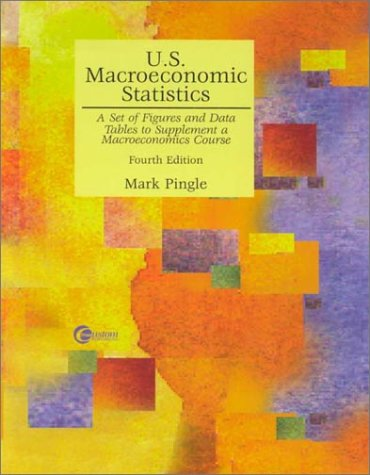 9780072360080: U.S. Macroeconomics Statistics