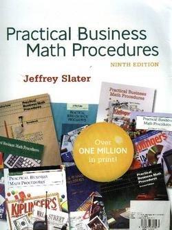 9780072360493: Practical Business Math Procedures
