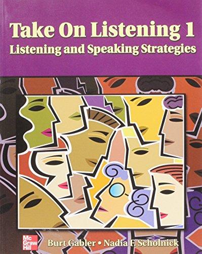 9780072360929: Take On Listening 1 Student Book: - Listening/Speaking Strategies: Students Book