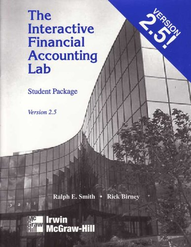 9780072361377: Interactive Financial Accounting Lab Student Package, Version 2.5