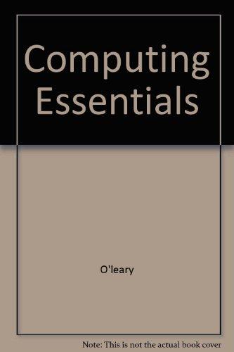 9780072361681: Computing Essentials: 2000/2001