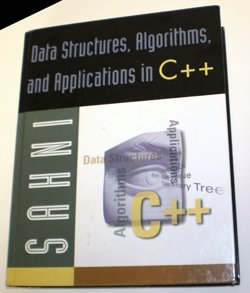 9780072362268: Data Structures, Algorithms, and Applications in C++ with Microsoft Compiler