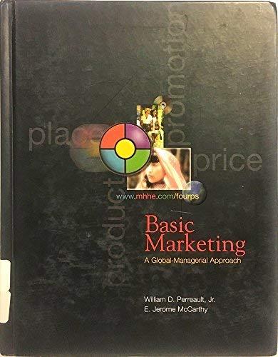 9780072362831: Basic Marketing