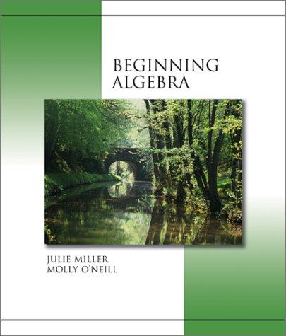 9780072363715: Beginning Algebra
