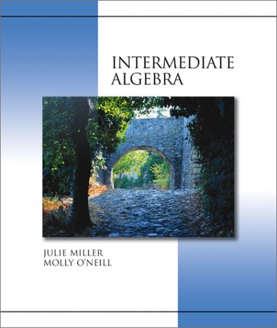 9780072363722: Intermediate Algebra