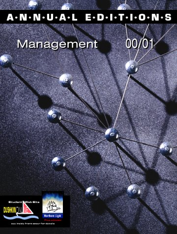 9780072364026: Annual Editions: Management 00/01