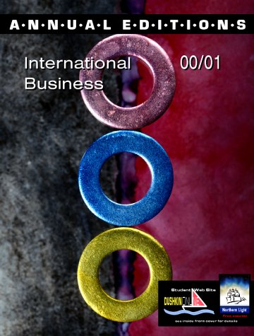 9780072364064: Annual Editions: International Business 00/01