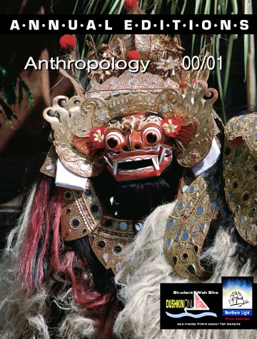9780072364101: Annual Editions: Anthropology 00/01 (Annual Editions)