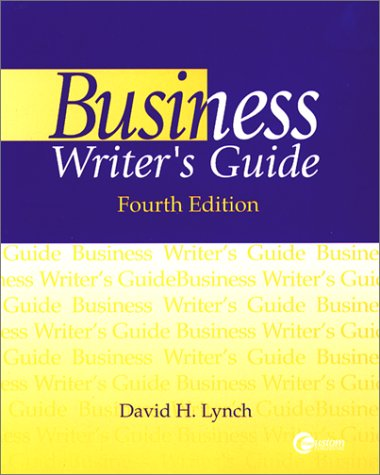9780072364897: Business Writers Gde